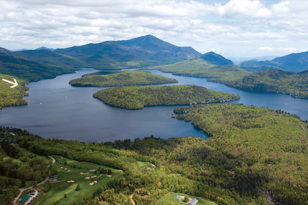 Lake Placid Lake - Gull Rock Bay - Adirondack Park - Lake Placid, NY